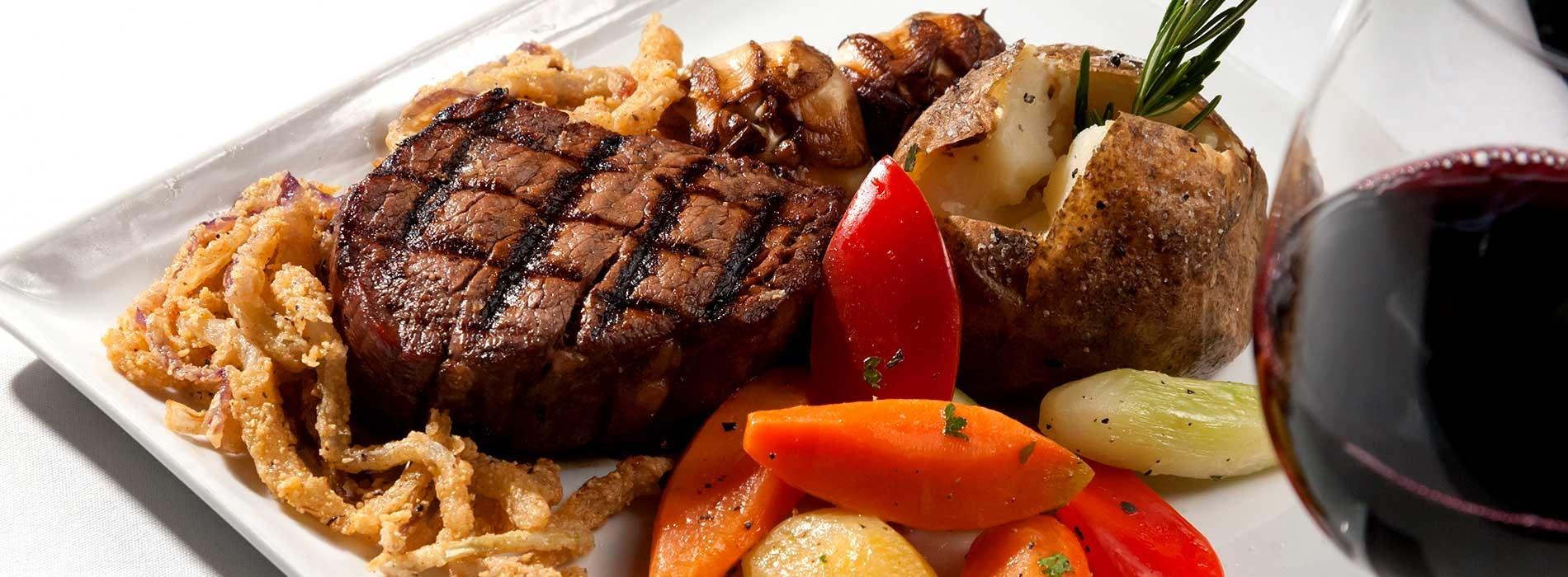 Steak En